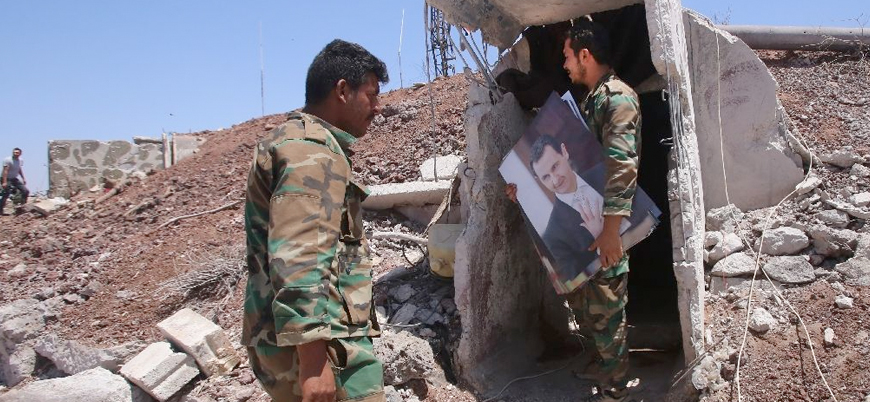 Aralarında subaylar da var: Esed rejimi İdlib'deki kayıplarının yasını tutuyor
