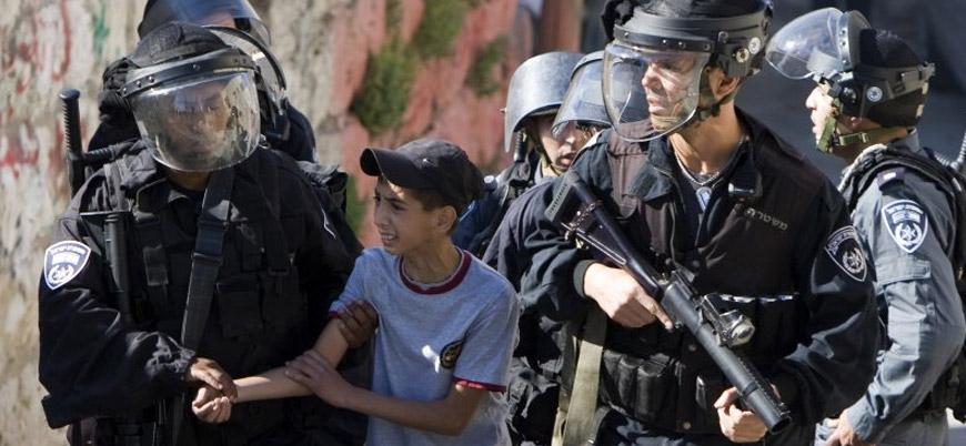 İsrail güçleri Filistinli 2 küçük çocuğu tutukladı