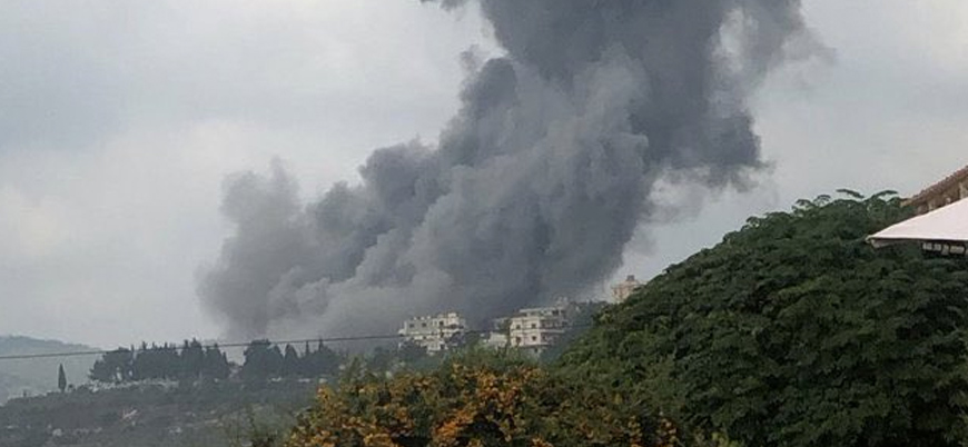 Lübnan'da büyük patlama: 'Hizbullah'ın deposu havaya uçtu'