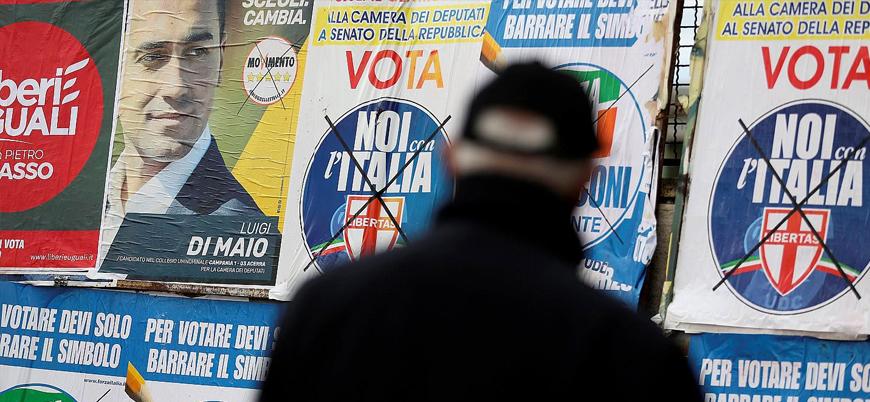 İtalya'da sağ partiler güç kazandı