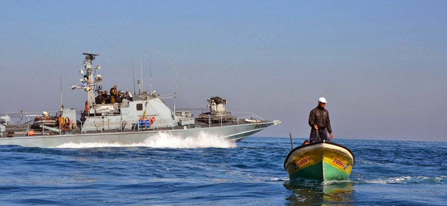 Filistin topraklarını ilhak eden İsrail Gazze'de balıkçılığı da engelliyor