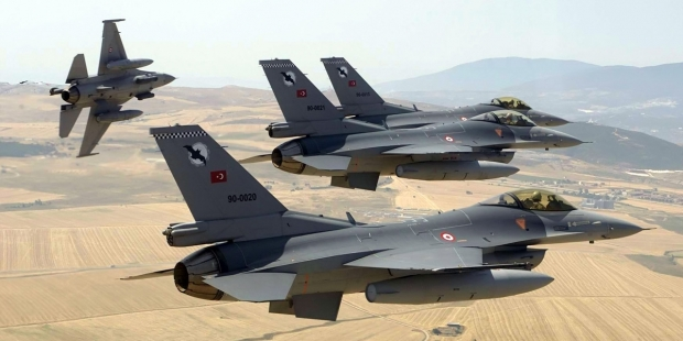 TSK'dan Suriye ve Irak'ta hava harekatı