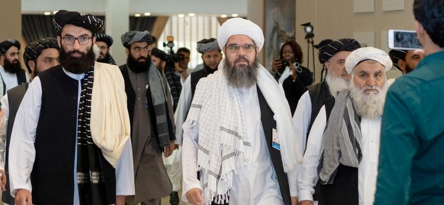 Taliban heyeti İran'ın daveti üzerine Tahran'da