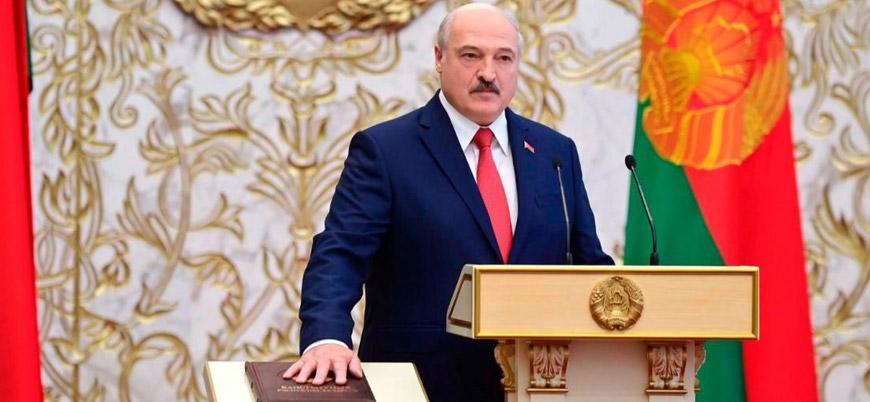 Almanya Lukaşenko'yu Belarus devlet başkanı olarak tanımadığını açıkladı
