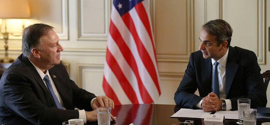 ABD'den Yunanistan'a üst düzey destek ziyareti