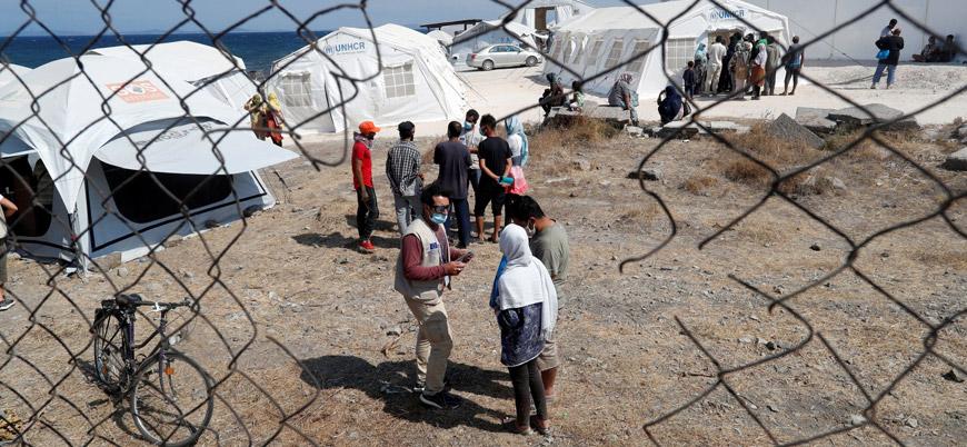 2 bin 500 mülteci Midilli Adası'ndan Yunanistan'a götürülüyor