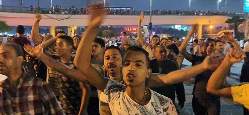 Mısır'da Sisi karşıtı gösterilerde yüzlerce kişi gözaltına alındı