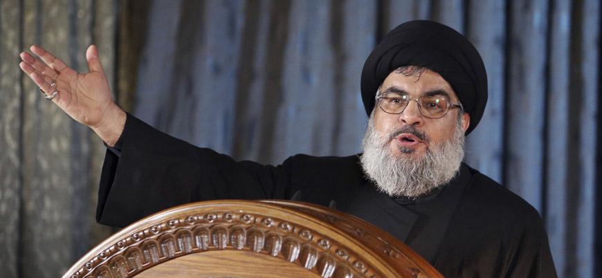 Nasrallah: Macron Lübnan'ın hükümdarı gibi davranamaz