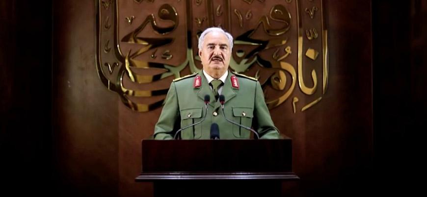 'Ateşkes halinde Hafter ordu komutanı olarak kalacak'