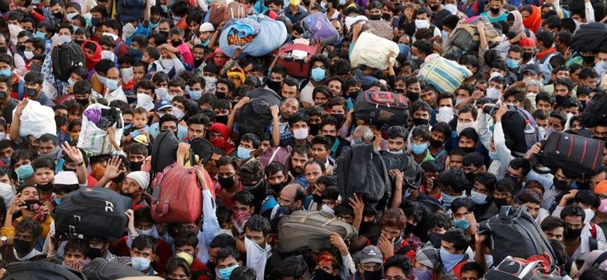 Hindistan'da bir günde 86 binden fazla yeni vaka