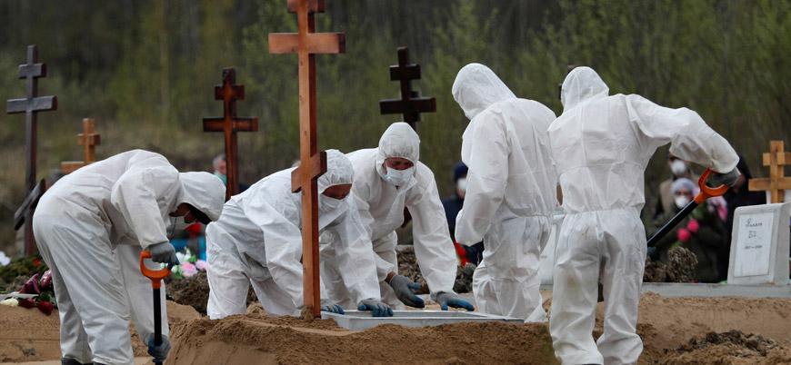 Rusya'da koronavirüs nedeniyle ölenlerin sayısı 26 bini aştı