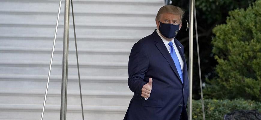Koronavirüse yakalanan Trump hastaneye kaldırıldı