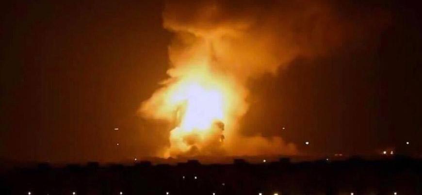 Başkent Bağdat'ta füze saldırıları devam ediyor