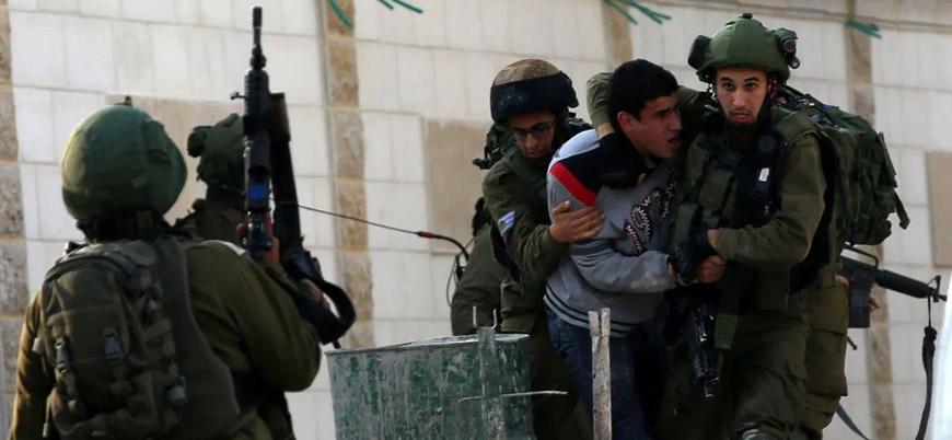 İsrail geçtiğimiz ay 339 Filistinliyi tutukladı