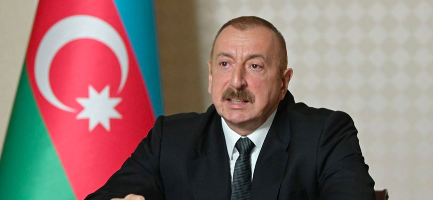 Aliyev: Karabağ'daki Rus güçleri yetki sınırlarını aşıyor