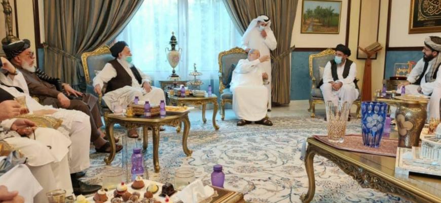Taliban heyeti Yusuf el Karadavi ile bir araya geldi