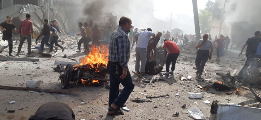 El Bab'ta bombalı araç saldırısı
