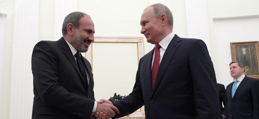 Putin ve Paşinyan Dağlık Karabağ konusunu görüştü
