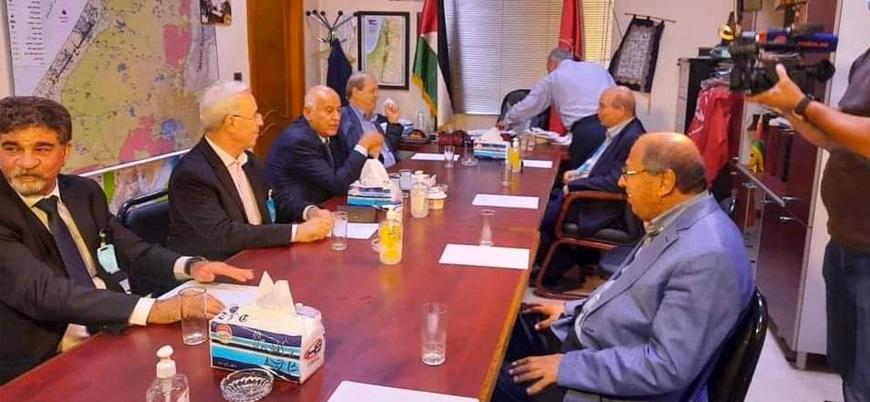 Filistinli gruplar Şam'da bir araya geldi