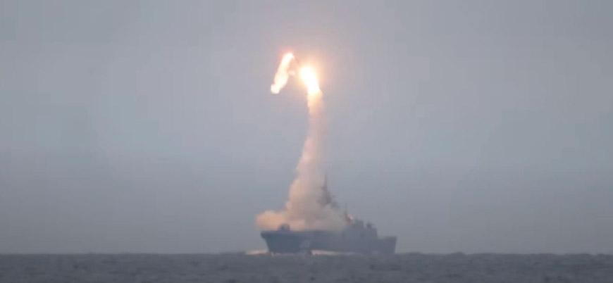 Rusya Zirkon hipersonik seyir füzesini test etti