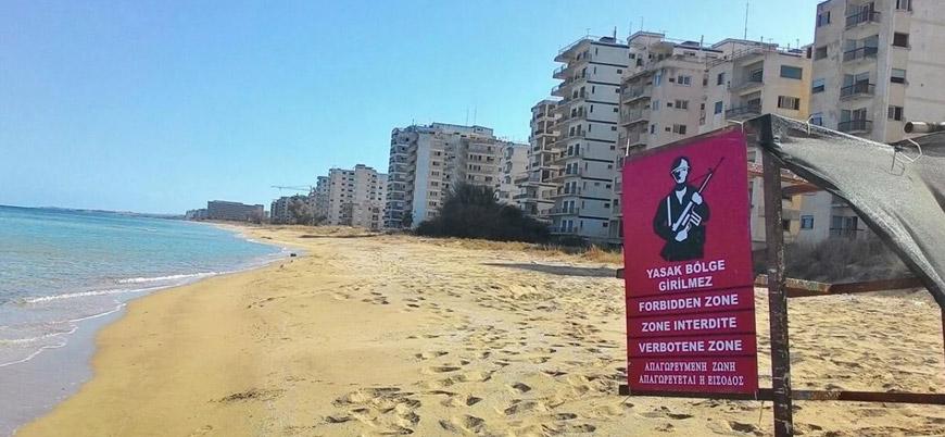 Kuzey Kıbrıs'ta 46 yıldır kapalı olan Maraş kademeli olarak açılıyor