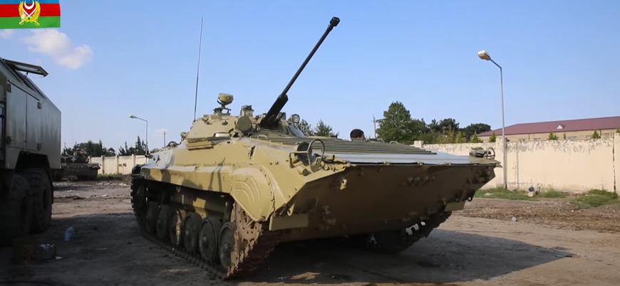 Azerbaycan ordusu Ermenistan'dan ele geçirdiği tankları çatışmalarda kullanıyor