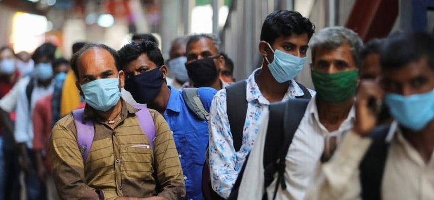 Hindistan'da vaka sayısı 7 milyona yaklaştı