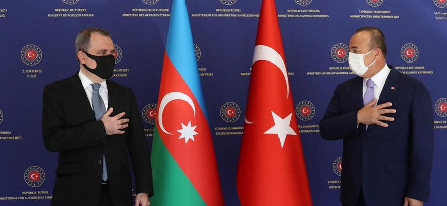 Türkiye ve Azerbaycan dışişleri bakanları ateşkesi görüştü