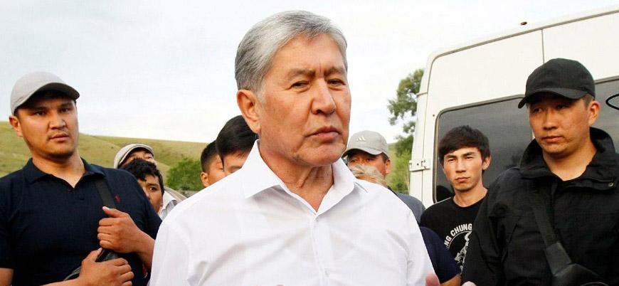 Eski Kırgızistan Cumhurbaşkanı Atambayev gözaltına alındı