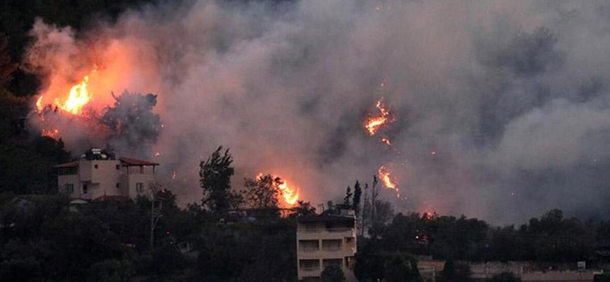 """""""Hatay'da PKK bağlantılı gruplar ormanları yakıyor"""""""