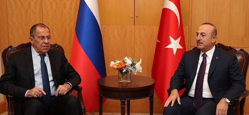 Çavuşoğlu'ndan Lavrov'a: Ermenistan'ı uyarın