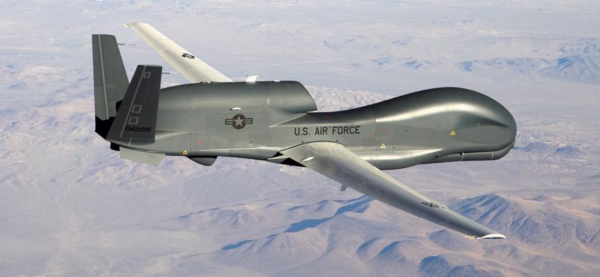 ABD'ye ait Global Hawk Azerbaycan-Ermenistan sınırında