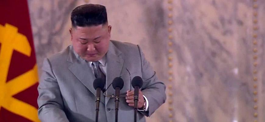 Kuzey Kore lideri Kim ağlayarak halktan özür diledi