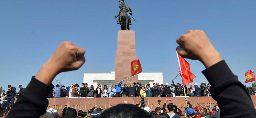 Kırgızistan'ın başkenti Bişkek'te yeniden OHAL ilan edildi
