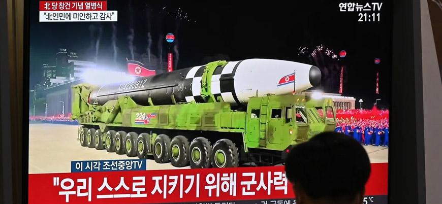 Kuzey Kore'nin yeni dev balistik füzesiyle ilgili neler biliniyor?