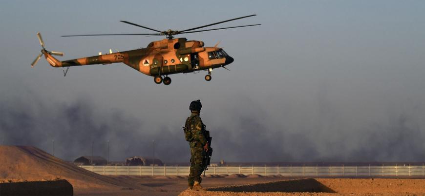 Afganistan'da iki askeri helikopter düştü