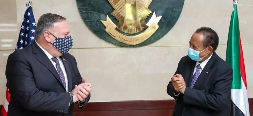 """""""ABD, İsrail ile normalleşme için Sudan'a 24 saat verdi"""""""