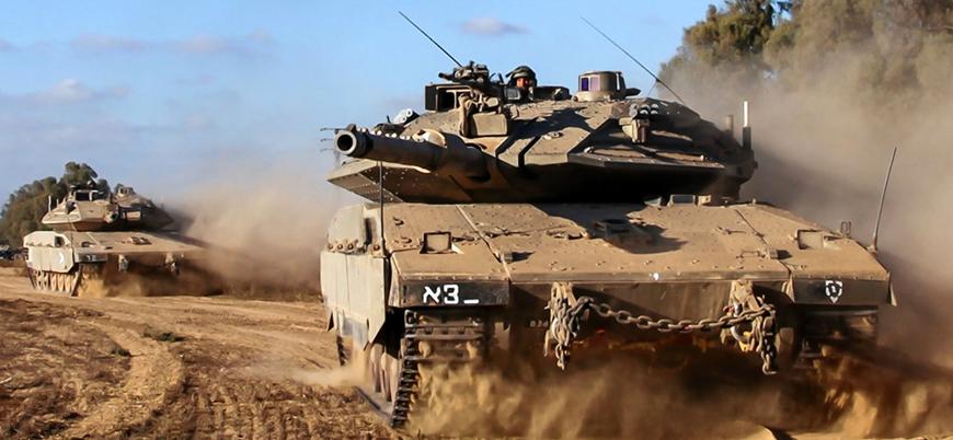 İsrail Gazze'ye saldırı için yol açıyor