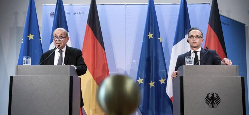 Almanya ve Fransa Türkiye'ye 'Doğu Akdeniz' konusunda 1 hafta süre verdi