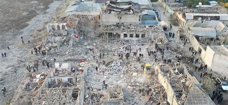Ermenistan Azerbaycan'ın Gence şehrinde sivilleri vurdu