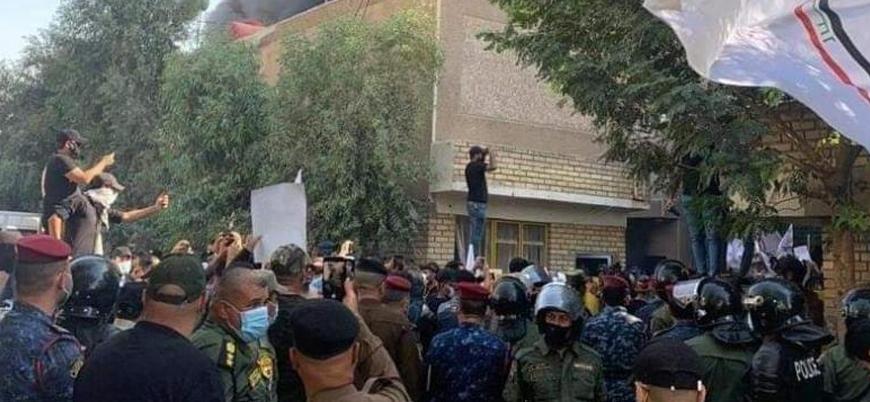 Irak'ta Haşdi Şabi milisleri KDP'nin bürosunu bastı