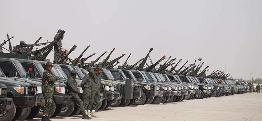 Hafter güçlerinden Cufra'da gövde gösterisi