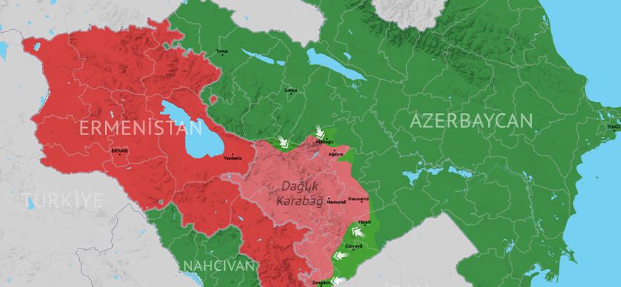 Azerbaycan'ın Dağlık Karabağ'da ilerleyişi