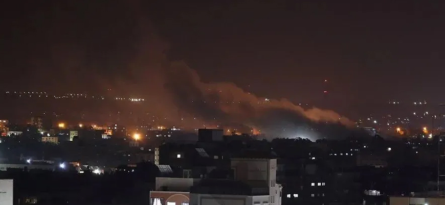 İsrail Suriye'de İran destekli grupları vurdu