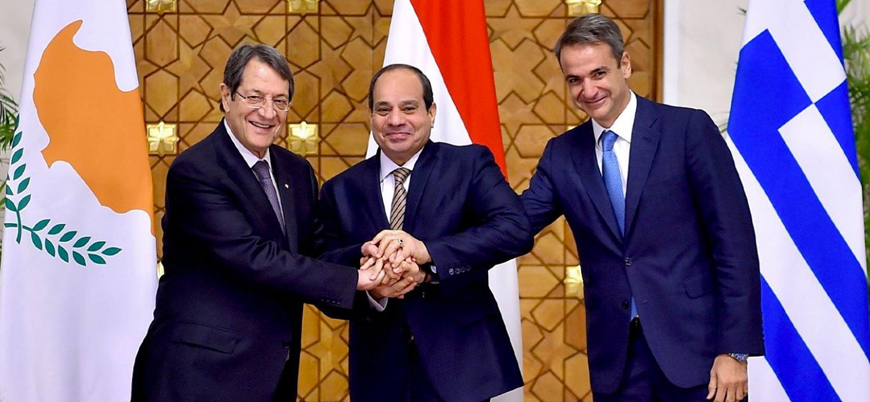 Yunanistan, Mısır ve Güney Kıbrıs Türkiye'ye karşı toplandı