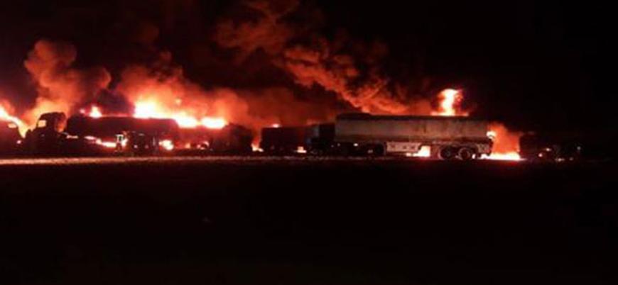 Rusya Fırat Kalkanı bölgesi Cerablus'u vurdu