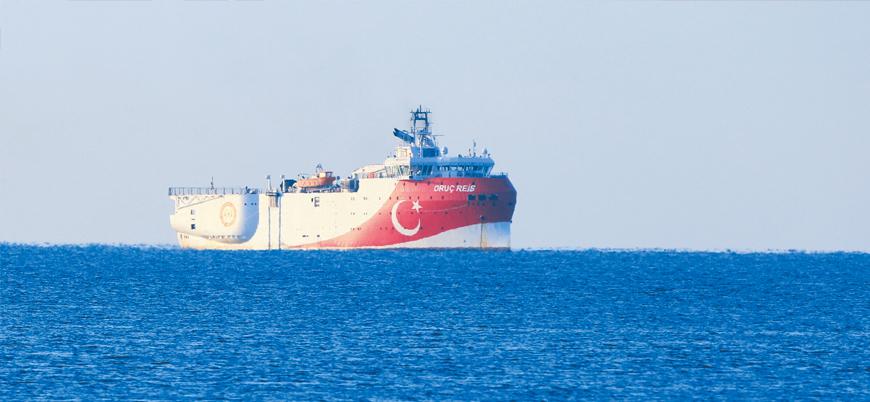 'Oruç Reis'ten Doğu Akdeniz'de yeni Navtex ilanı