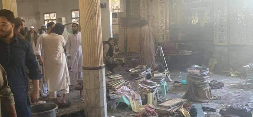 Pakistan'ın Peşaver şehrinde medreseye bombalı saldırı