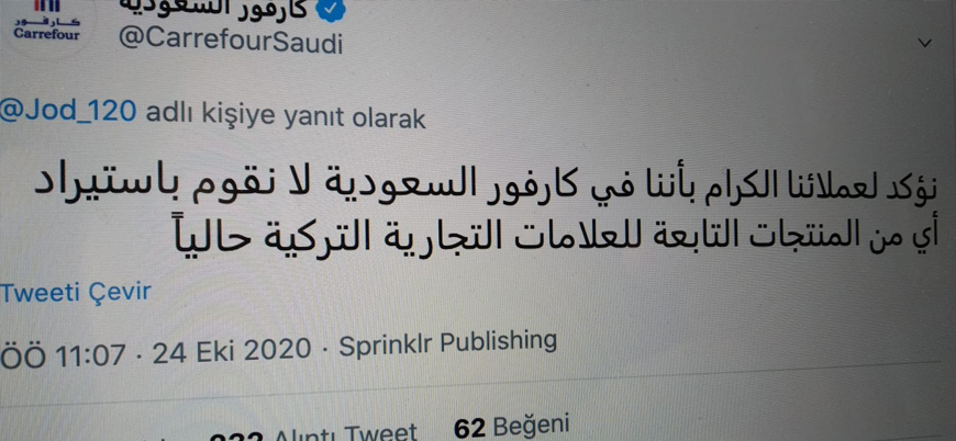Carrefour'dan Türk mallarına boykot