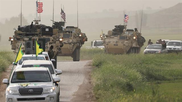 ABD Türkiye sınırına zırhlı araç konuşlandırdı